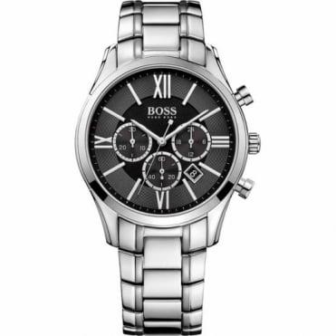 Hugo Boss Gent's S/Steel Chronograph Ambassador Watch 1513196
