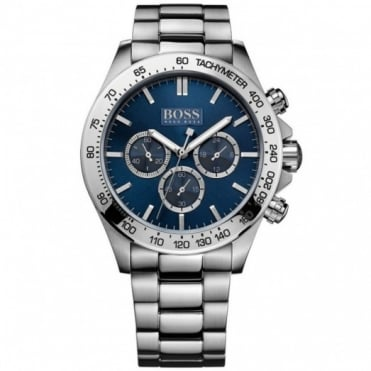 Hugo Boss Gents Stainless Steel Chrono Ikon Watch 1512963