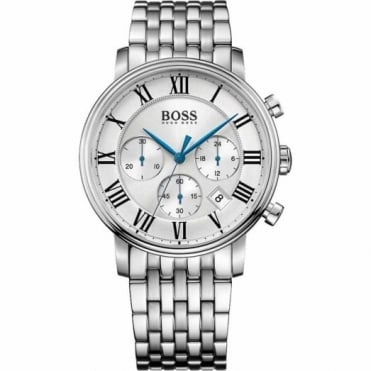 Hugo Boss Gent's Stainless Steel Chronograph Elevation Watch 1513322