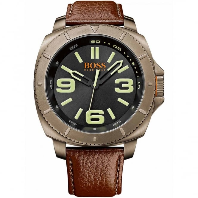 27bd6b6b7f3 Men s Berlin Brown Leather Strap 1513164 - Watches from Hillier ...
