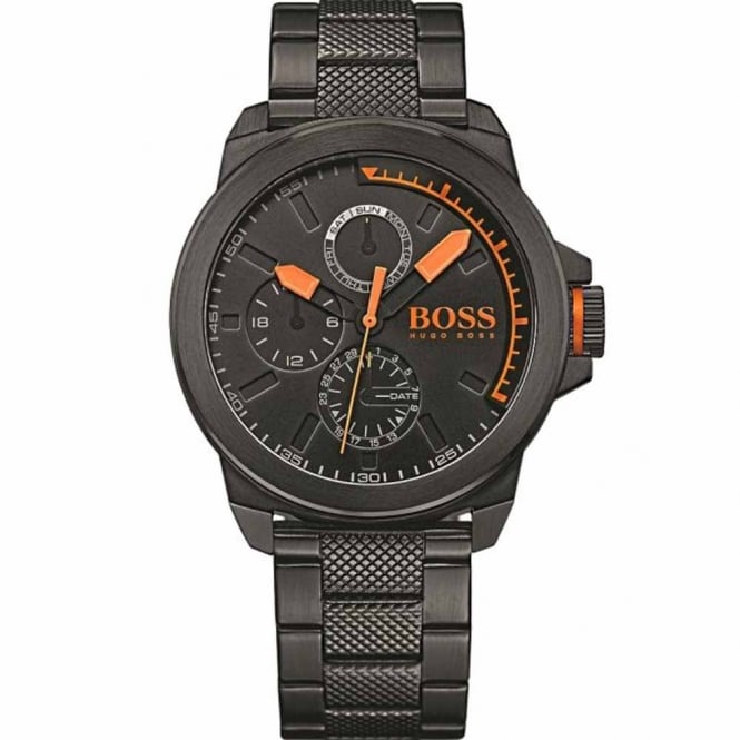 Men's Black Ion Plated Watch 1513157