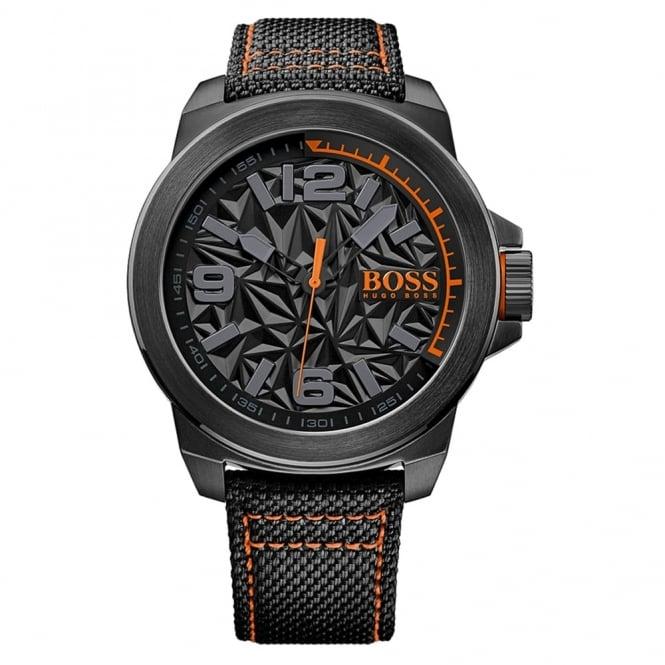 Hugo Boss Orange Men's Black PVD New York Watch 1513343
