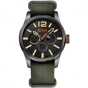 Hugo Boss Orange Men's Gunmetal Steel Multi Dial Watch 1513312