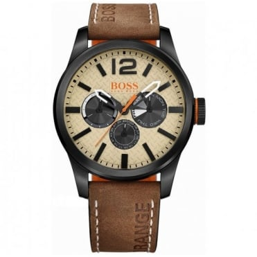 Hugo Boss Orange Men's Ion Plated Steel Paris Watch 1513237
