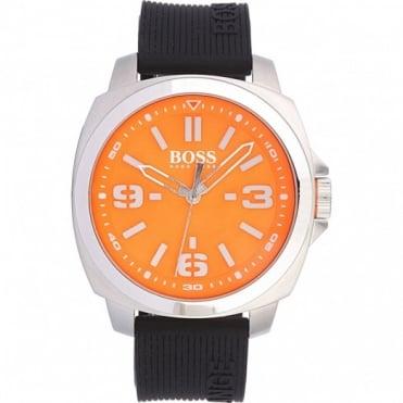 Hugo Boss Orange Men's Stainless Steel Rubber Strap Watch 1513096