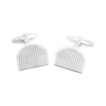 Jos Van Arx Square Silver Plated Cufflinks CL43