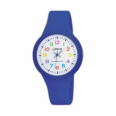 Kids Blue Rubber Watch RRX45EX9