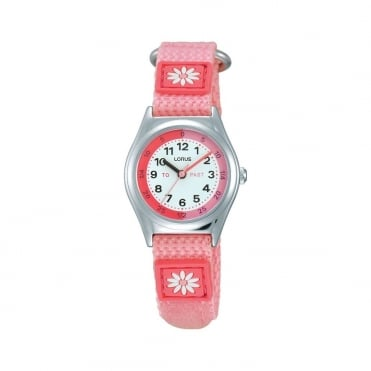 Kids Pink Time Teacher Watch RG249KX9
