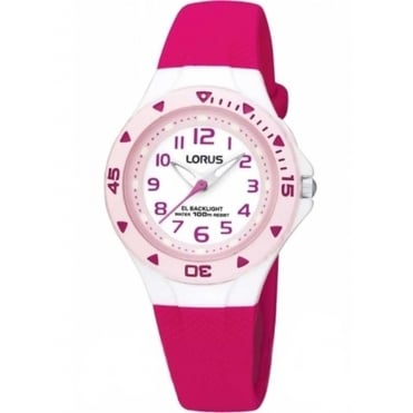 Kids Pink & White Watch R2339DX9