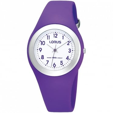 Kids Purple Resin Watch R2305GX9