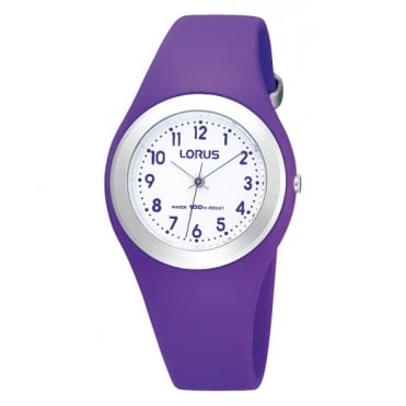 Kids Purple Silicone Watch R2305GX9
