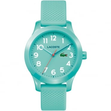 Kids Turquoise Rubber Watch 2030005