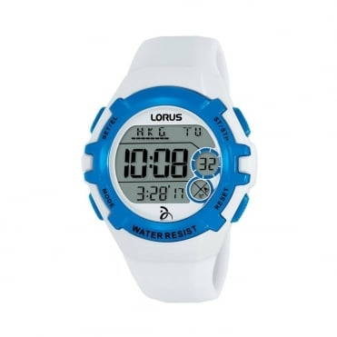Kids White Digital Watch R2393LX9