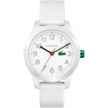 Kids White Rubber Watch 2030003