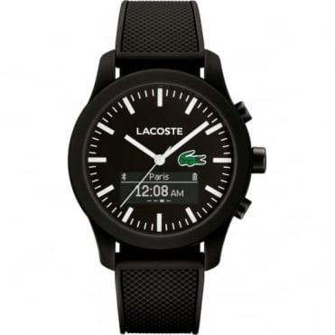 Lacoste Black Rubber 12.12 Smart Watch 2010881