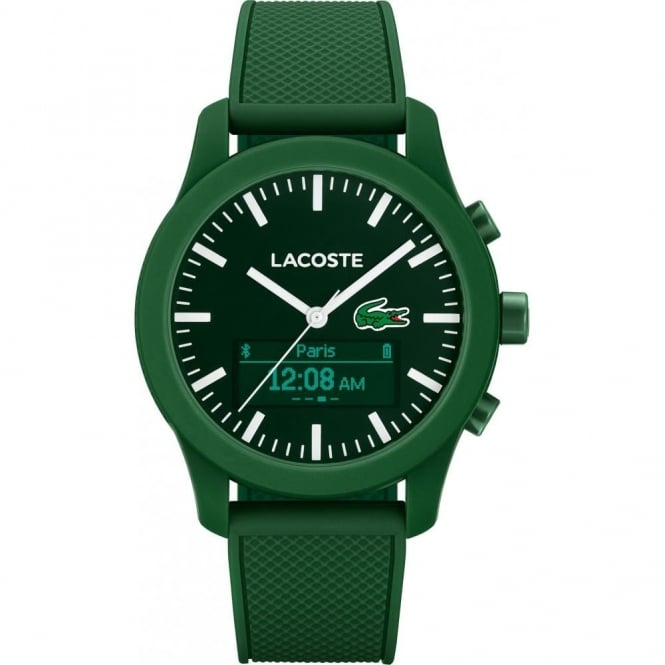 Lacoste Green Rubber 12.12 Smart Watch 2010883