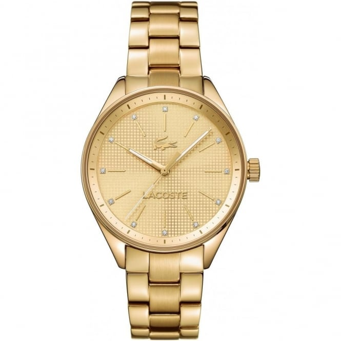Lacoste Ladies' Gold Plated Philadelphia Watch 2000898