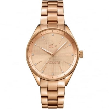 Lacoste Ladies' Rose Gold Plate Philadelphia Watch 2000899