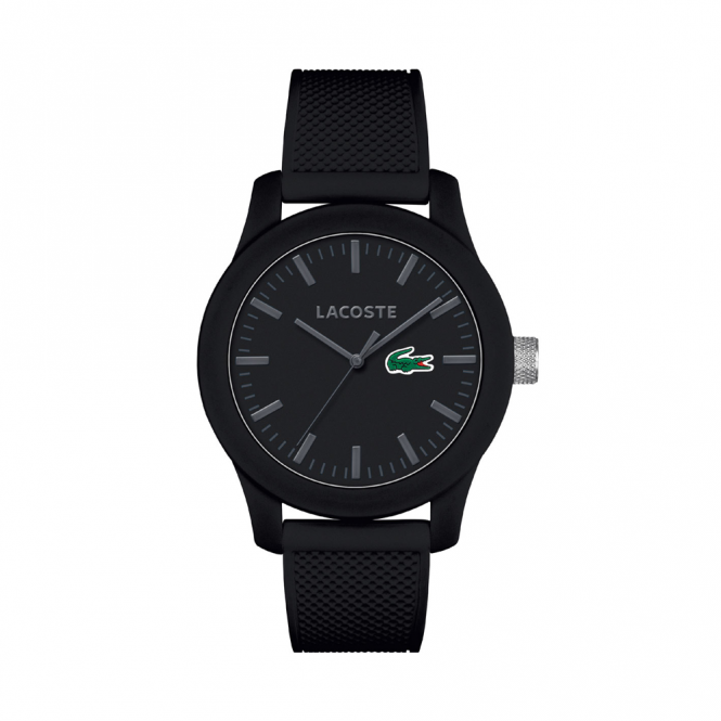 Men's Black Rubber 12.12 Watch 2010766