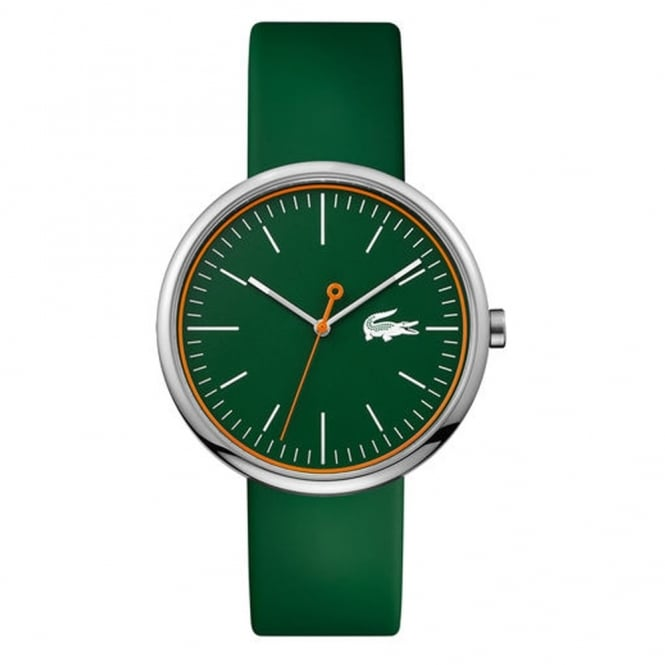 Lacoste Men's Green Rubber Orbital Watch 2010864