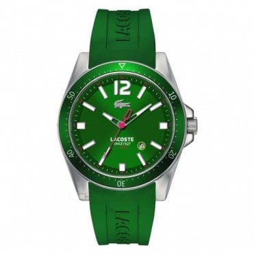 Lacoste Men's Green Rubber Seattle Watch 2010663