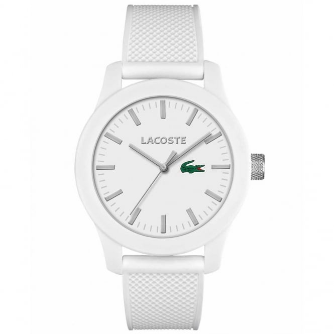 Unisex White Rubber 12.12 Watch 2010762