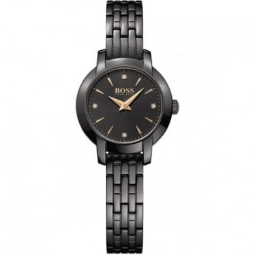 Hugo Boss Ladies' Black PVD Success Watch 1502387