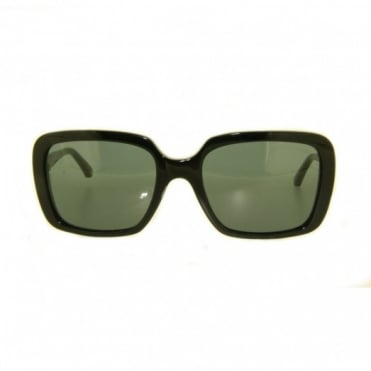 Ladies Black Sunglasses EA4007 501787 54