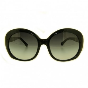 Emporio Armani Ladies Black Sunglasses EA4009 50178G 56