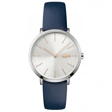Ladies' Blue Leather Moon Watch 2000986