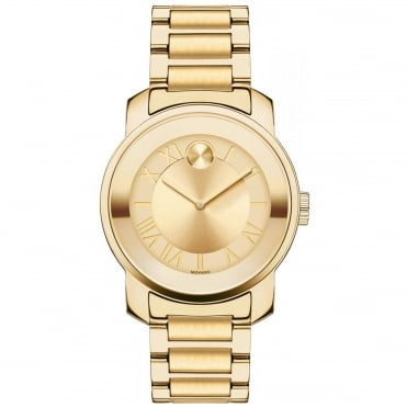 Ladies' Bold Gold Plate Watch 3600323