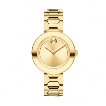 Ladies' Bold Gold Plate Watch 3600382