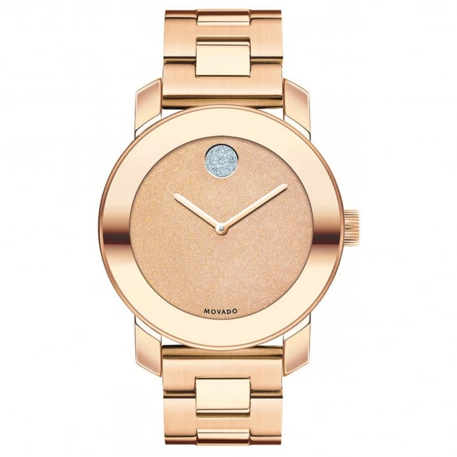 Ladies' Bold Iconic Rose Gold Plate Watch 3600335