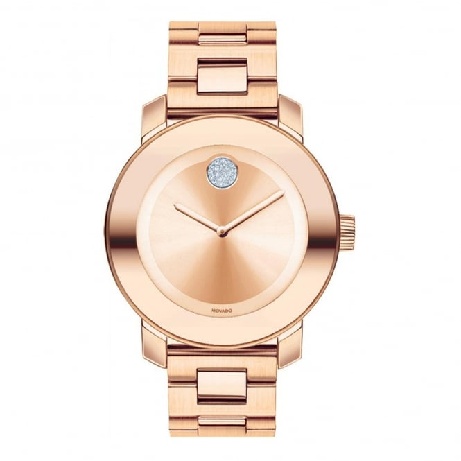 Ladies' Bold Iconic Rose Plate Watch 3600086