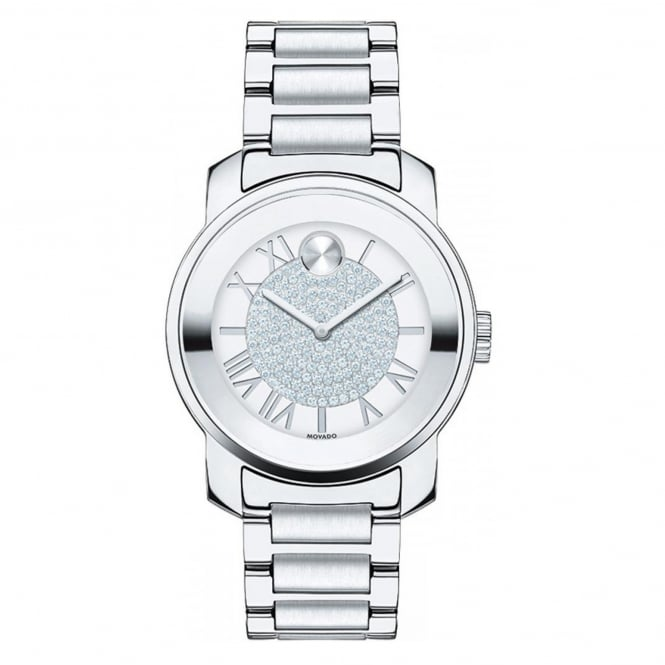 Ladies' Bold Luxe S/Steel Stone Set Watch 3600254