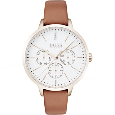Ladies' Brown Leather Symphony Watch 1502420