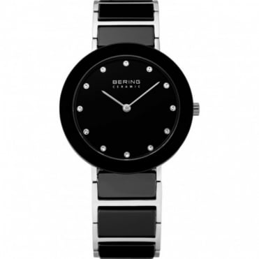 Ladies Ceramic Black Watch 11435-749