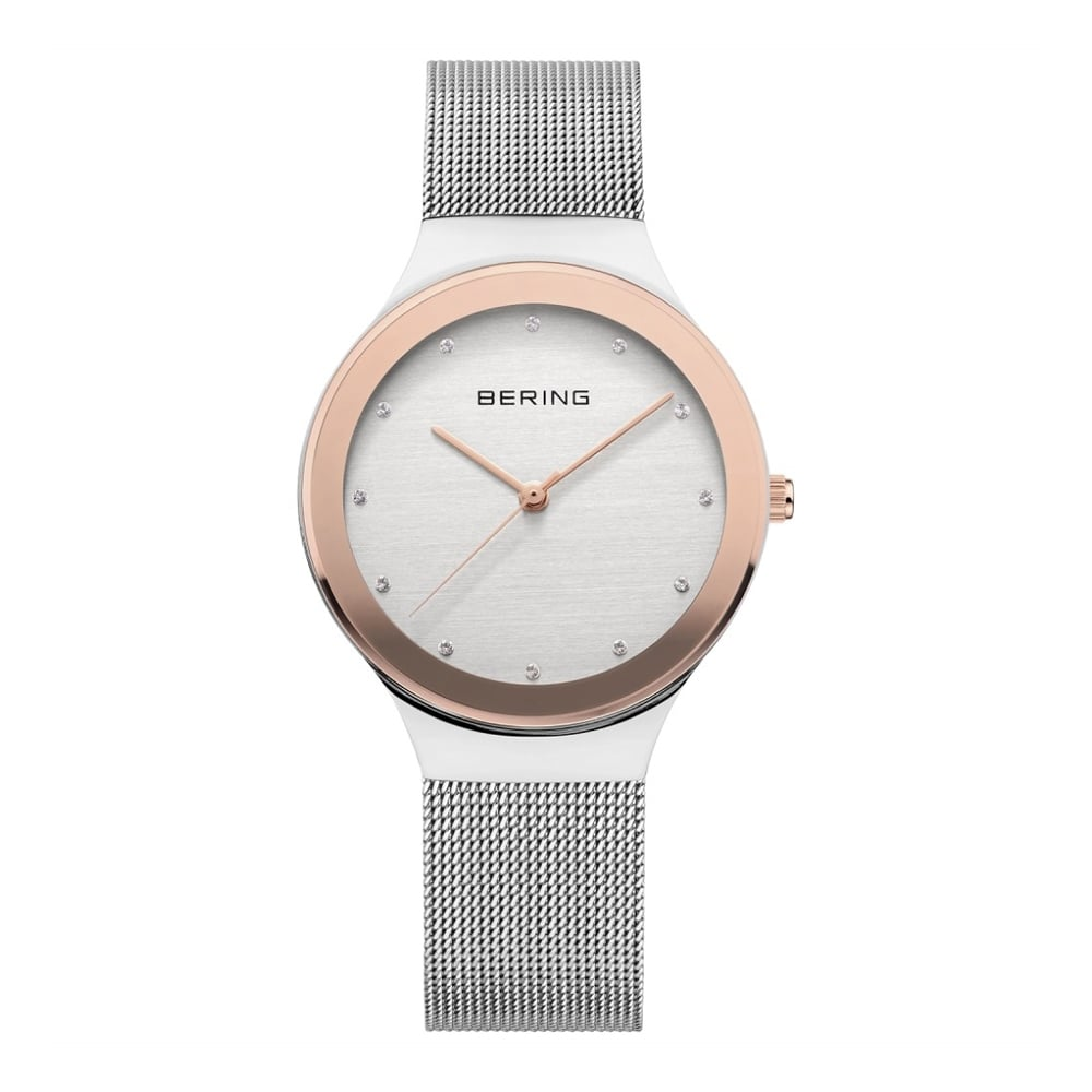 e63bd6efeee Bering Ladies  Classic Rose Gold   Stainless Steel Watch 12934-060