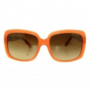 Emporio Armani Ladies Coral Sunglasses EA4008 508313 56