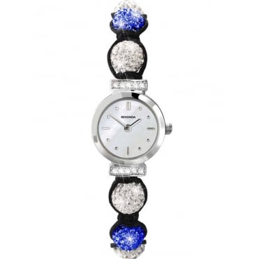 Ladies' Crystalla Blue & White Bracelet Watch 4732