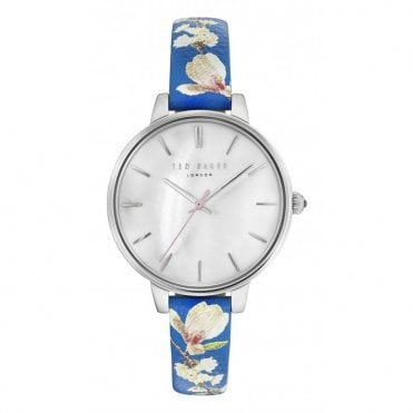 f8b7bcb72 Ted Baker Ladies' Floral Leather Kate Watch TE5000519