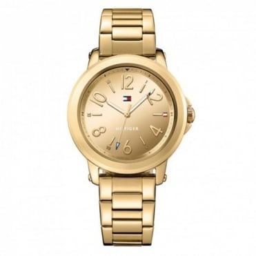 Tommy Hilfiger Ladies' Gold Plate Ellie Watch 1781751