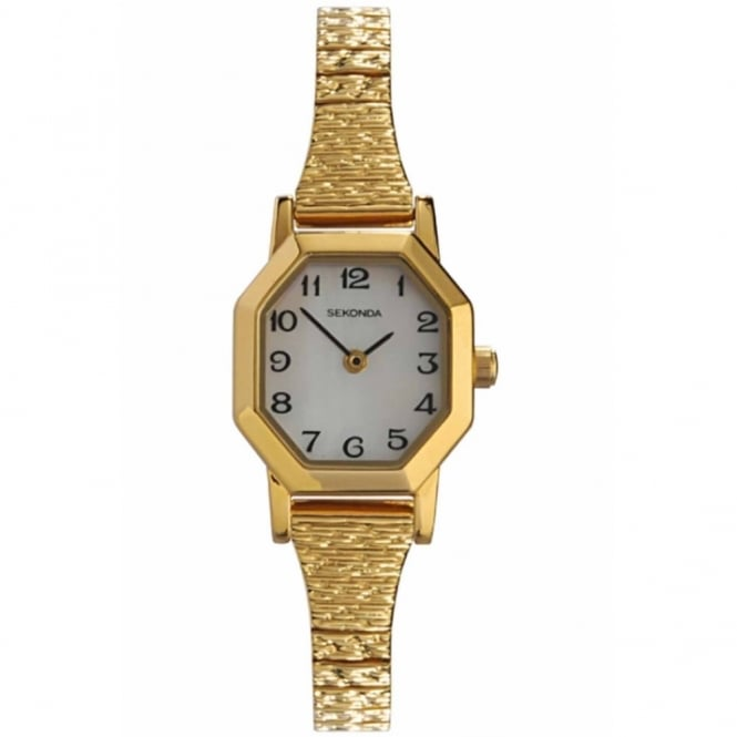 Ladies' Gold Plate Expanding Watch 4265