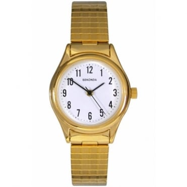 Ladies' Gold Plate Expanding Watch 4602
