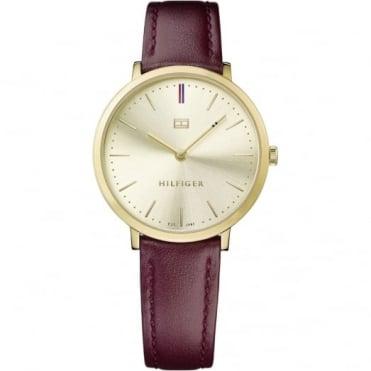 Tommy Hilfiger Ladies' Gold Plate Pippa Watch 1781692