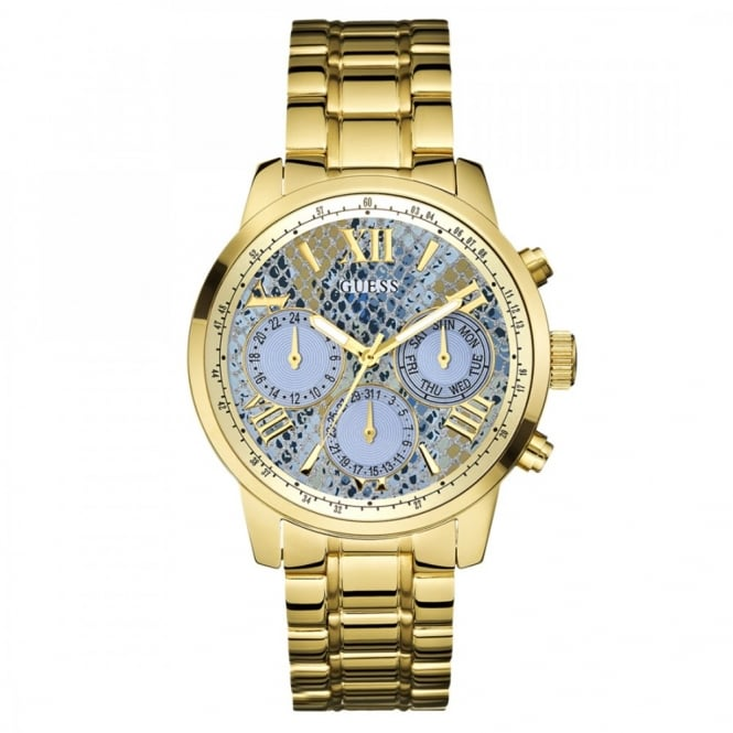 Ladies Gold Plate Sunrise Watch W0330L13