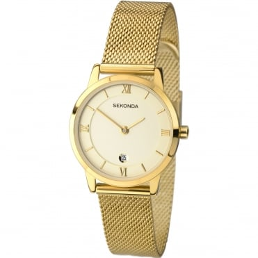 Ladies' Gold Plate Watch 2103