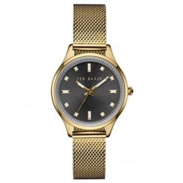 Ted Baker Ladies' Gold Plate Watch TE10031191