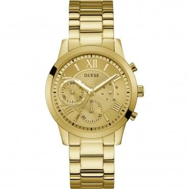 Ladies Gold Plated Solar Watch W1070L2