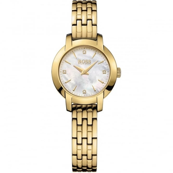 Hugo Boss Ladies' Gold Plated Success Watch 1502381